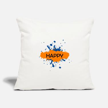 Happy happy happy - Pillowcase 17,3'' x 17,3'' (45 x 45 cm)