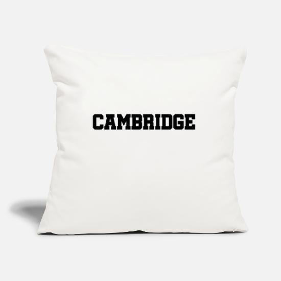 Britain Pillow Cases - Cambridge - England - Great Britain - GB - Rowing - Pillowcase 17,3'' x 17,3'' (45 x 45 cm) natural white