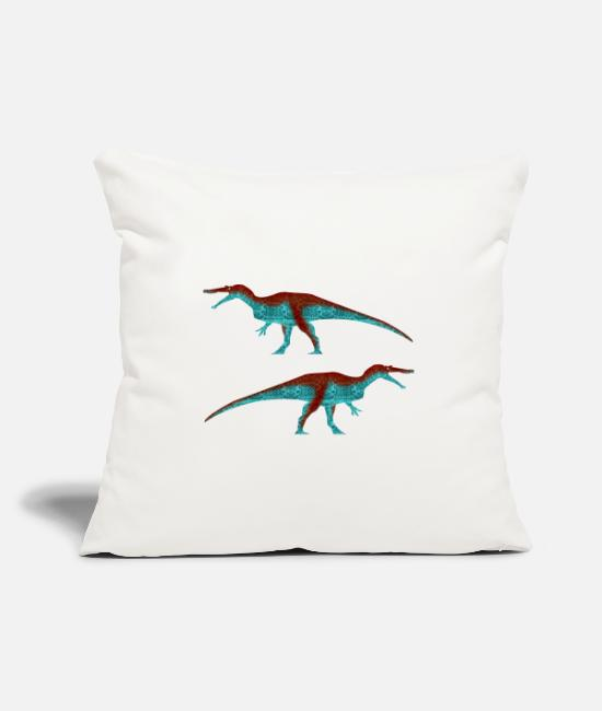 Hipster Pillow Cases - Baryonyx (Classic) - Pillowcase 17,3'' x 17,3'' (45 x 45 cm) natural white
