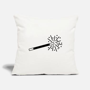 Abracadabra black wand - Pillowcase 17,3'' x 17,3'' (45 x 45 cm)