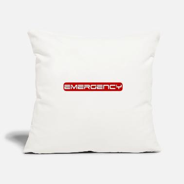Emergency EMERGENCY - The emergency - Pillowcase 17,3'' x 17,3'' (45 x 45 cm)