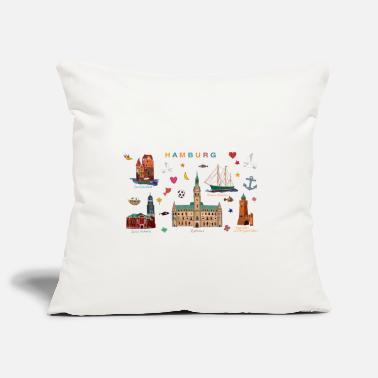 Hamburg Hamburg - Pillowcase 17,3'' x 17,3'' (45 x 45 cm)