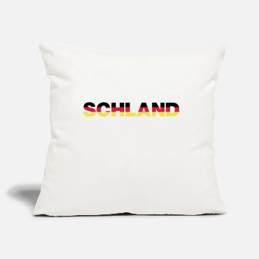 Schland Schland colors - Pillowcase 17,3'' x 17,3'' (45 x 45 cm)