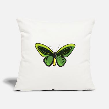 Butterfly Lemon Butterfly Butterfly Butterfly Butterfly - Pillowcase 17,3'' x 17,3'' (45 x 45 cm)