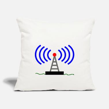 Tour Radio ondes tour radio Radio Communications - Housse de coussin
