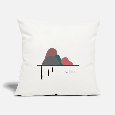 Poetry Art and poetry - Pillowcase 17,3'' x 17,3'' (45 x 45 cm)