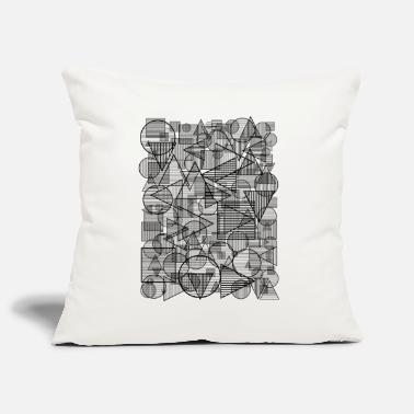 Triangles Pattern (Simple Form) - Pillowcase 17,3'' x 17,3'' (45 x 45 cm)