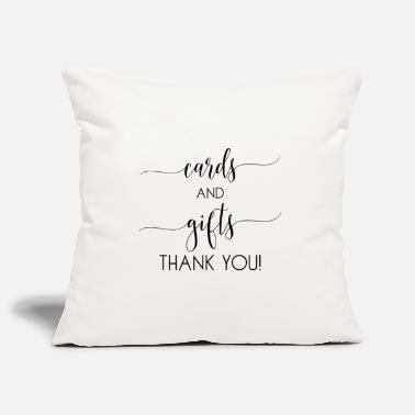 Card cards and gifts card - Pillowcase 17,3'' x 17,3'' (45 x 45 cm)