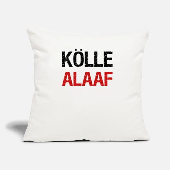 Shrovetide Pillow Cases - COLD ALAAF - Pillowcase 17,3'' x 17,3'' (45 x 45 cm) natural white