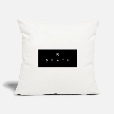 Death Japanese death, death - Pillowcase 17,3'' x 17,3'' (45 x 45 cm)