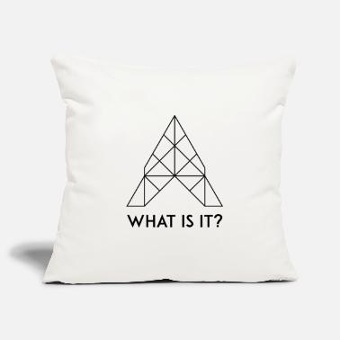 What What is it? / What is it? - Pillowcase 17,3'' x 17,3'' (45 x 45 cm)