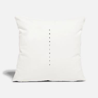 Creative CREATIVITY - creativity - Pillowcase 17,3'' x 17,3'' (45 x 45 cm)