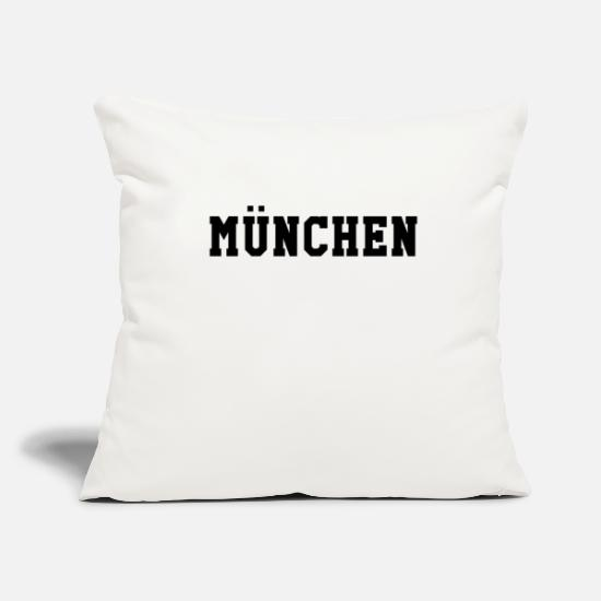 Birthday Pillow Cases - Munich - Pillowcase 17,3'' x 17,3'' (45 x 45 cm) natural white