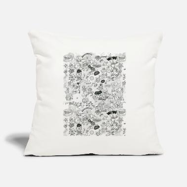 Celestial Bodies Aliens, celestial bodies and odd machines pattern - Pillowcase 17,3'' x 17,3'' (45 x 45 cm)