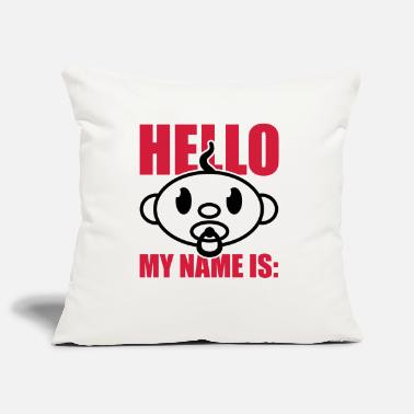 Nom baby_hello_my_name_is_gi2 - Housse de coussin