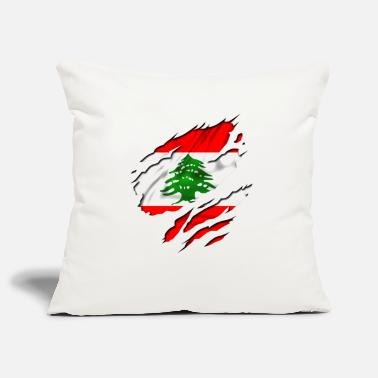 Country Flag Football Sport And Arab Art Jesus country flag lebanon - Pillowcase 17,3'' x 17,3'' (45 x 45 cm)