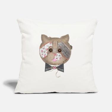 CAT FACE ON CASES - Pillowcase 17,3'' x 17,3'' (45 x 45 cm)