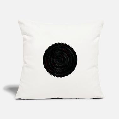 Picture tooth circle - Pillowcase 17,3'' x 17,3'' (45 x 45 cm)