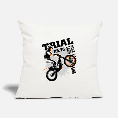 Trial Motorcycle Trial - Motorcycle Trial - Pillowcase 17,3'' x 17,3'' (45 x 45 cm)
