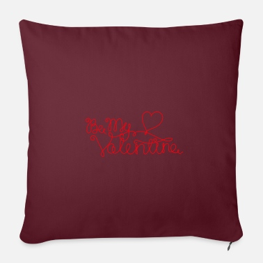 Valentines Day be my valentine valentines day love in love couple - Pillowcase 17,3'' x 17,3'' (45 x 45 cm)