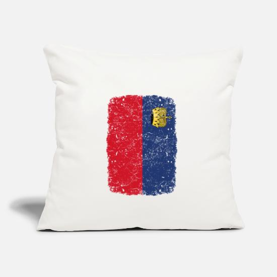 Love Pillow Cases - roots home country roots home Liechtenstein - Pillowcase 17,3'' x 17,3'' (45 x 45 cm) natural white