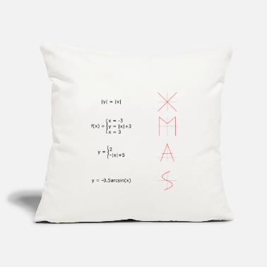ALL YOU NEED IS LOVE MATH AT CHRISTMAS - Pillowcase 17,3'' x 17,3'' (45 x 45 cm)