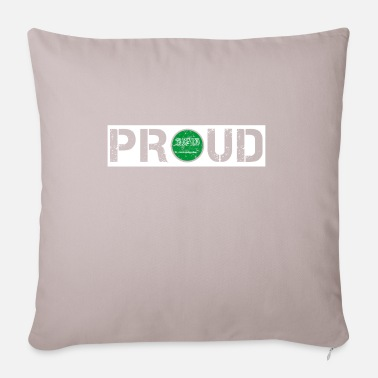 HOME ROOTS COUNTRY POISON LOVE PRIDE Saudi Arabia - Pillowcase 17,3'' x 17,3'' (45 x 45 cm)