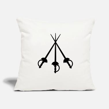 Musket 3 Musketeers - Pillowcase 17,3'' x 17,3'' (45 x 45 cm)