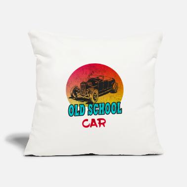 Vintage Old School Car Vintage / Gift Vintage Car - Pillowcase 17,3'' x 17,3'' (45 x 45 cm)