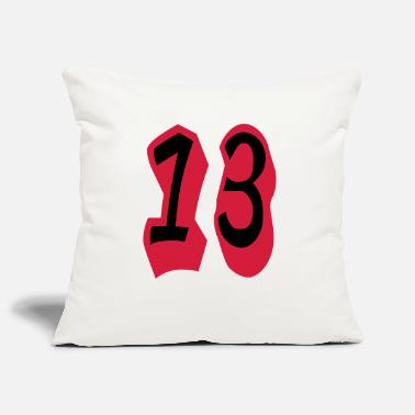 Eventing ★Cool Number Thirteen-Best Jersey Uniform Number★ - Pillowcase 17,3'' x 17,3'' (45 x 45 cm)