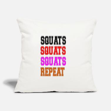 Squat squats squats squats repeat - Kissenhülle