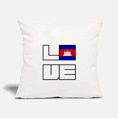 Love home roots roots Cambodia - Pillowcase 17,3'' x 17,3'' (45 x 45 cm)