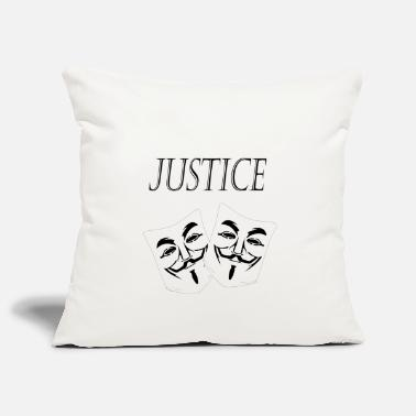 Justice justice - Pillowcase 17,3'' x 17,3'' (45 x 45 cm)