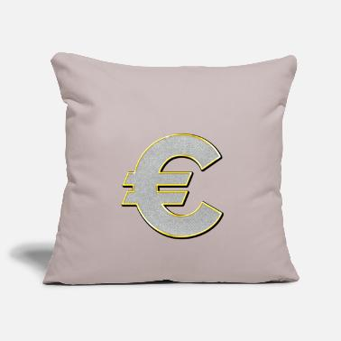 Euro Sign Euro sign Bling Bling - Pillowcase 17,3'' x 17,3'' (45 x 45 cm)