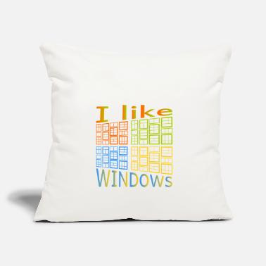 Windows J'aime de Windows - Housse de coussin
