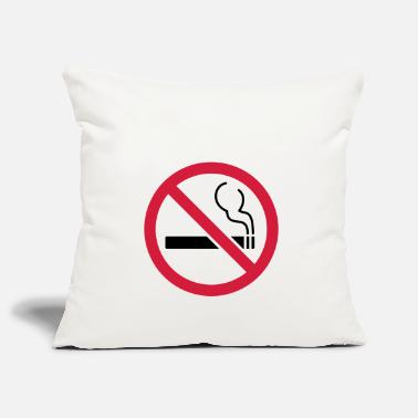 Smoking No smoking No smoking - Pillowcase 17,3'' x 17,3'' (45 x 45 cm)
