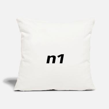 Number One n1 Number One Number One - Pillowcase 17,3'' x 17,3'' (45 x 45 cm)