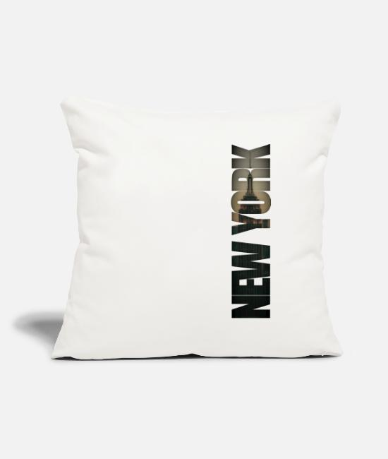 New York City Pillow Cases - New York City Burlesque - Pillowcase 17,3'' x 17,3'' (45 x 45 cm) natural white