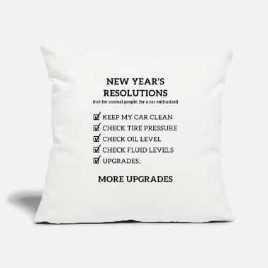 Piston JDM New year resolution | T-shirts JDM - Pillowcase 17,3'' x 17,3'' (45 x 45 cm)