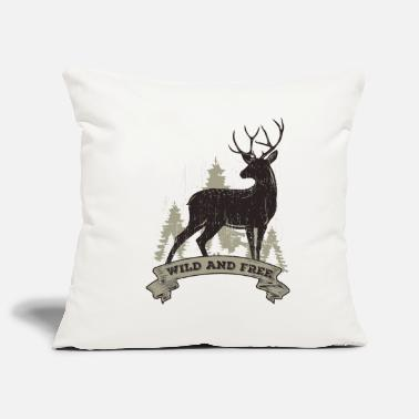 Deer Hunter Deer deer hunter gift idea - Pillowcase 17,3'' x 17,3'' (45 x 45 cm)