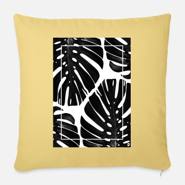 Homedecor Monstera - Pillowcase 17,3'' x 17,3'' (45 x 45 cm)