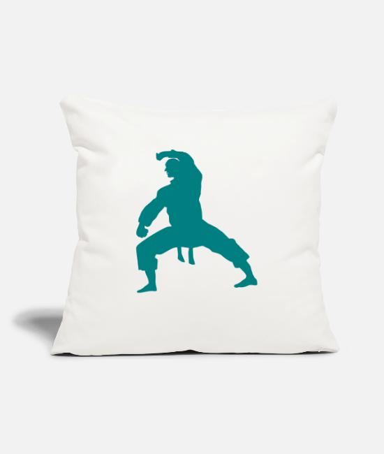 Martial Arts Pillow Cases - fighter - Pillowcase 17,3'' x 17,3'' (45 x 45 cm) natural white