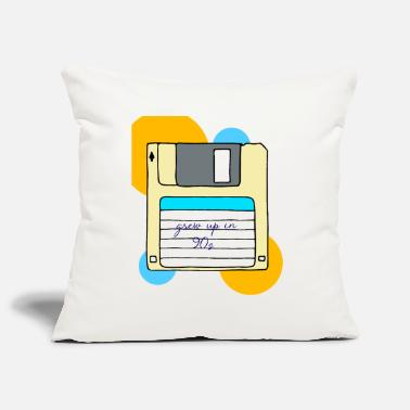 90s 90s 90s 90s 90s 90s - Pillowcase 17,3'' x 17,3'' (45 x 45 cm)