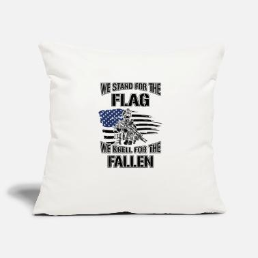 United States We stand for the flag we knell for the fallen USA - Housse de coussin