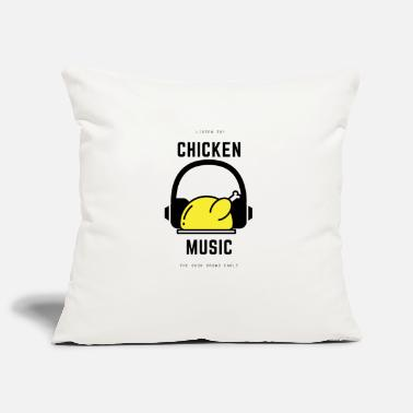 Limpio What It Is Musica De Pollo F012 - Funda de cojín, 44 x 44 cm
