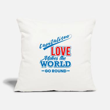 Capital capitalism - Pillowcase 17,3'' x 17,3'' (45 x 45 cm)