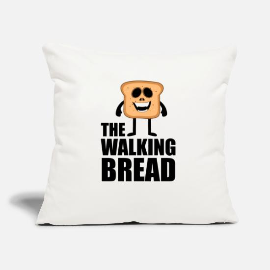 Bread Pillow Cases - Dead bread - Pillowcase 17,3'' x 17,3'' (45 x 45 cm) natural white