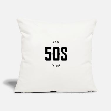 50s Made in the 50s - Born in the 50s. - Pillowcase 17,3'' x 17,3'' (45 x 45 cm)