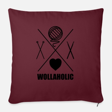 Wolle Wolle Wollaholic - Kissenhülle
