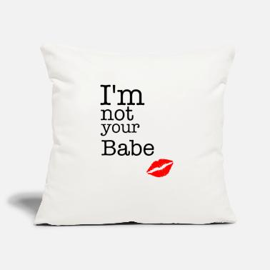 Chic I am not your babe - Pillowcase 17,3'' x 17,3'' (45 x 45 cm)